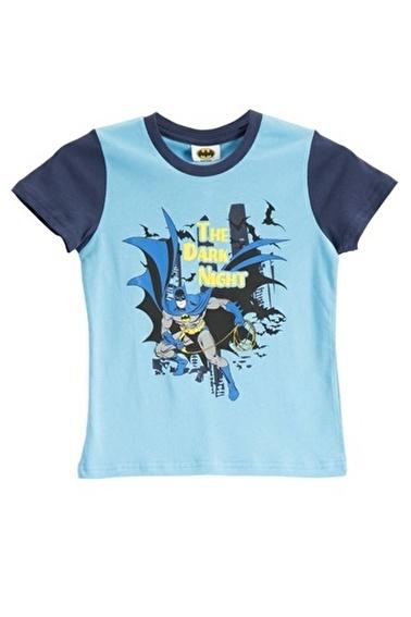 Batman Batman Lisanslı Turkuaz Erkek Çocuk T-Shirt Mavi